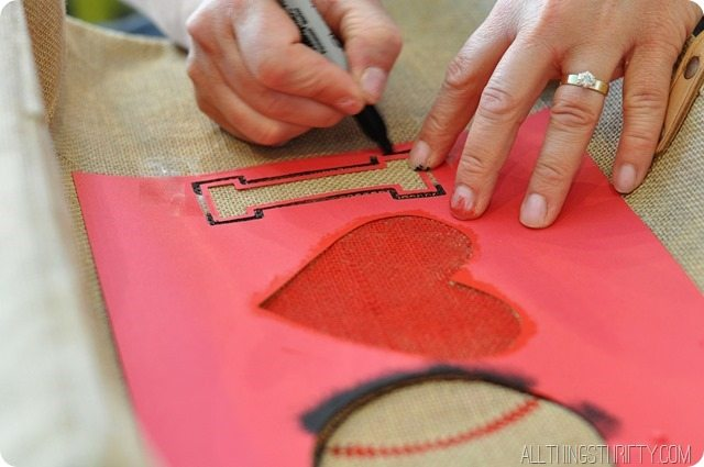 Stenciling technique