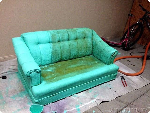 don't paint a couch