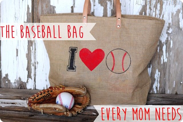 tHE BASEBALL MOM BAG