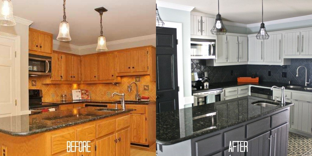 Thrifty Kitchen Makeover