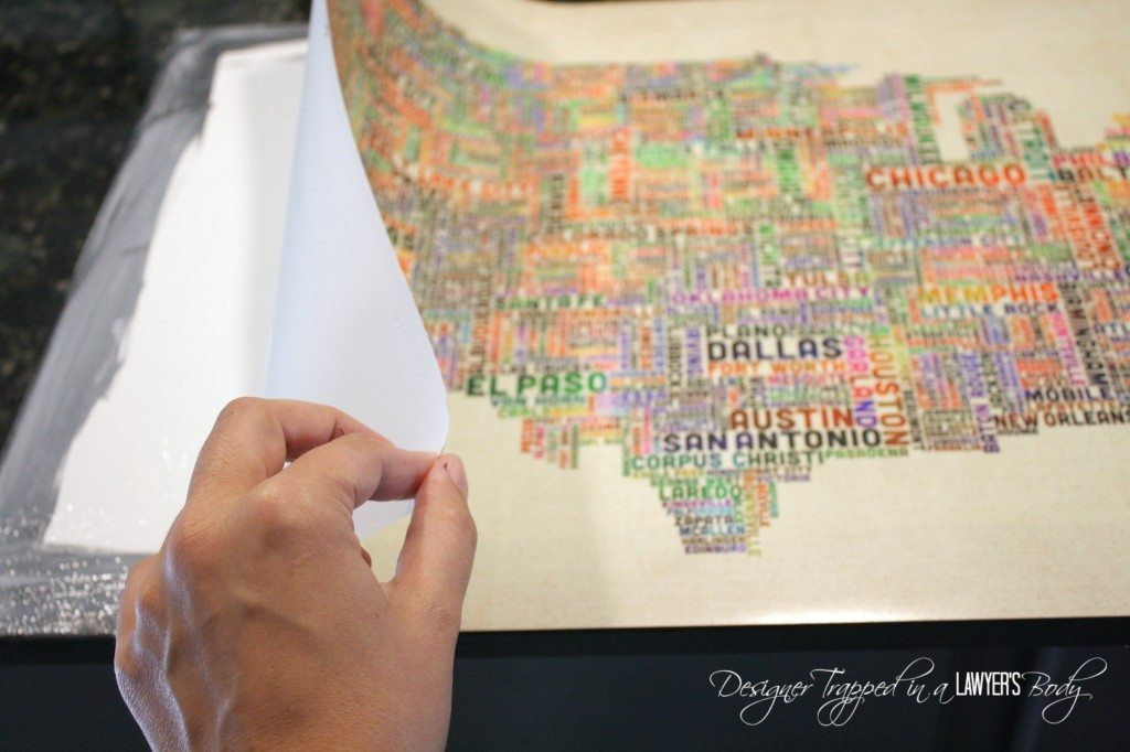 MUST PIN!  DIY Art Canvas with REAL TEXTURE!  Full tutorial by Designer Trapped in a Lawyer's Body for All Things Thrifty!
