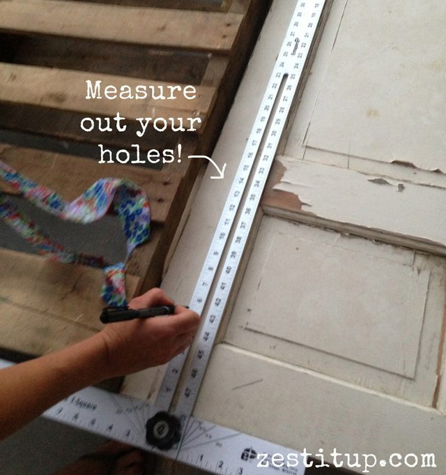 measure the holes