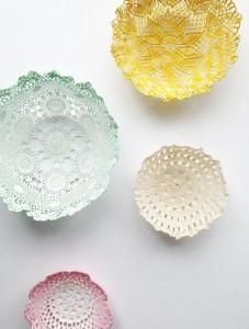 Doily bowls