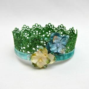 Glittery crown