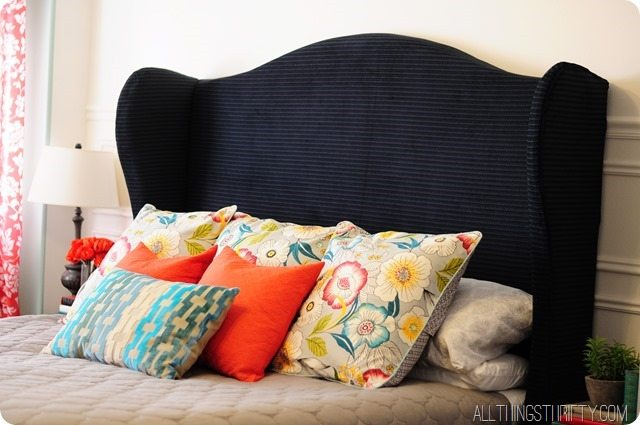 How To Make A Wingback Headboard King Size