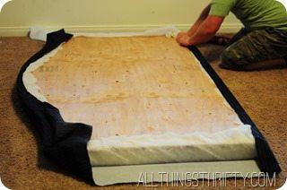 upholstering-a-headboard