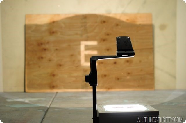 use-a-projector-to-make-your-headboard-backing