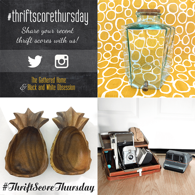 Thrift Score Thursday | All things Thrifty contributor Trisha D from Black and White Obsession