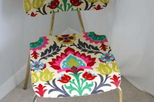 "A Thrifty ""Upholstered"" Chair!"