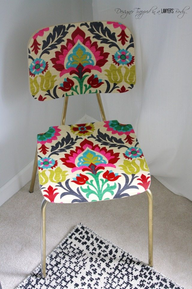 A Thrifty Upholstered Chair All Things