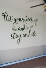 Guest Room Part 4: Wall Mural