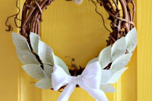 Paper Laurel Wreath