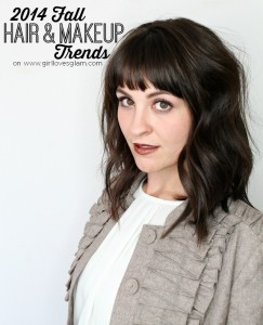 2014 Fall Hair and Makeup Trends