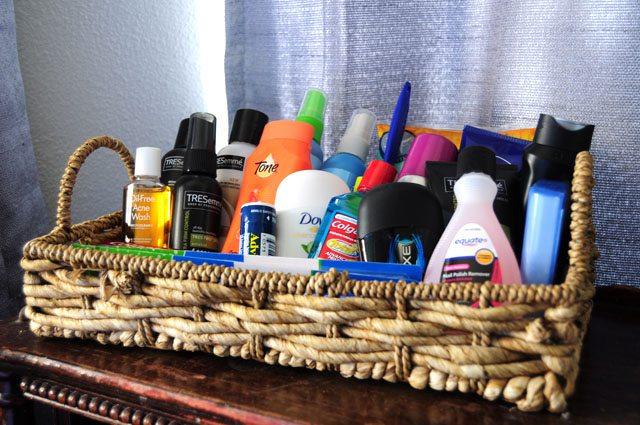 guest room toiletries. 36 essentials for any guest room