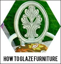 how-to-glaze-furniture