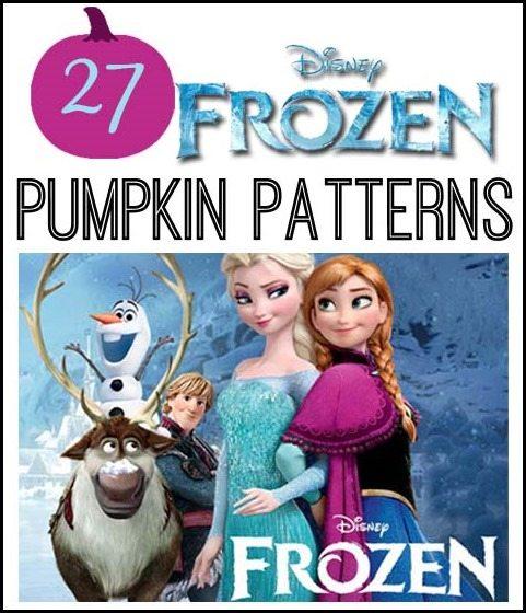 Frozen Pumpkin Patterns All Things Thrifty