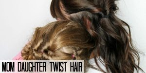 Mom Daughter Twist Hair