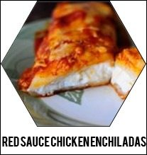 Red-sauce-chicken-enchiladas