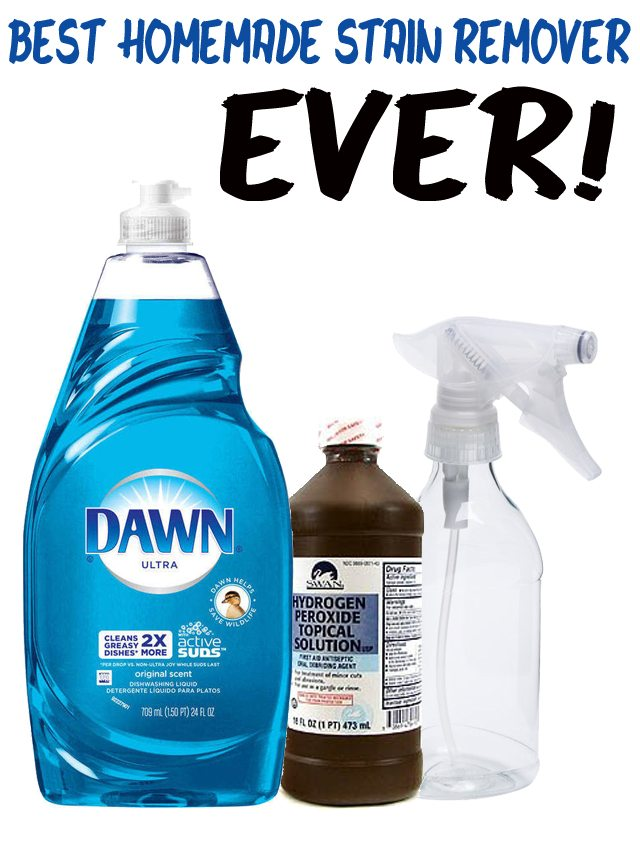 Dawn Peroxide Baking Soda Carpet Cleaner