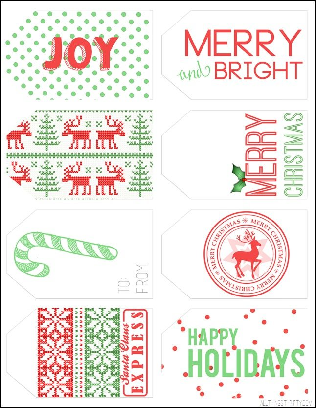 christmas tag printables a copy