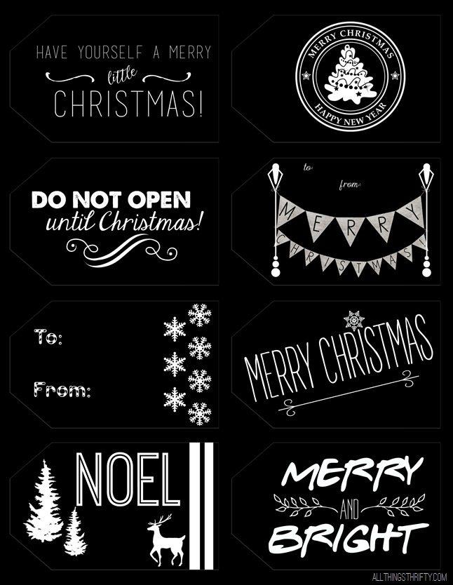 christmas tag printables invert