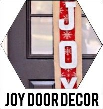 joy door decor