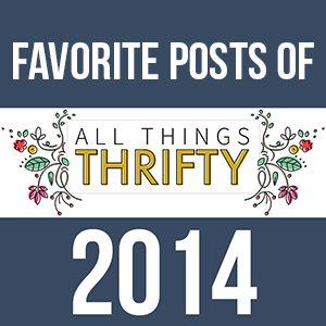 2014 Posts from All Things Thrifty