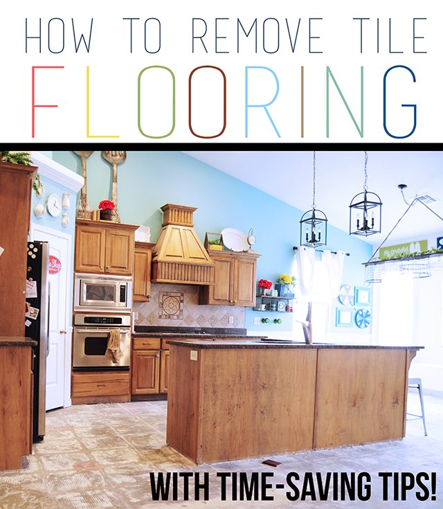How To Remove Tile Flooring Yourself With Tips And Tricks All Things Thrifty