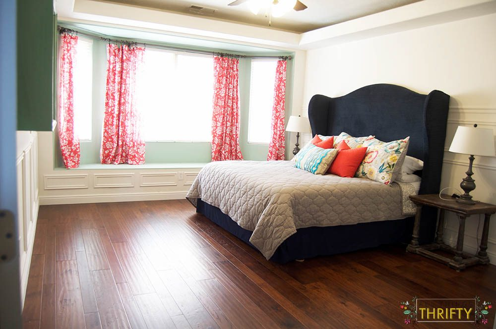 Master Bedroom Wood Floors After 1
