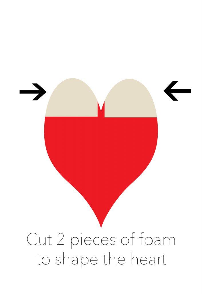 cut foam pieces