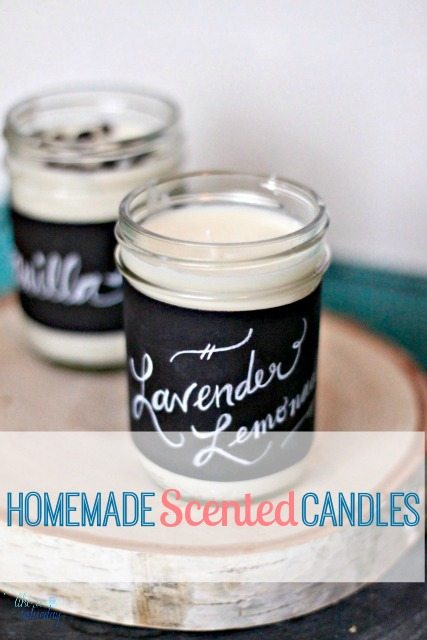 Homemade scented candles for Scents for homemade candles