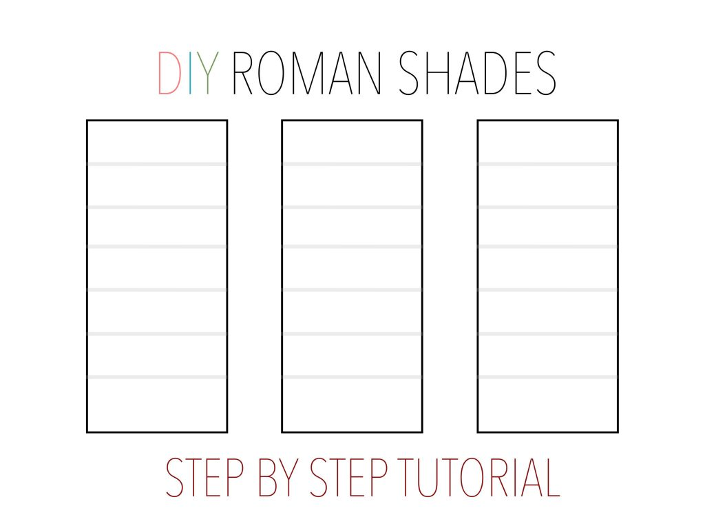 Diy roman shades tutorial all things thrifty solutioingenieria Image collections