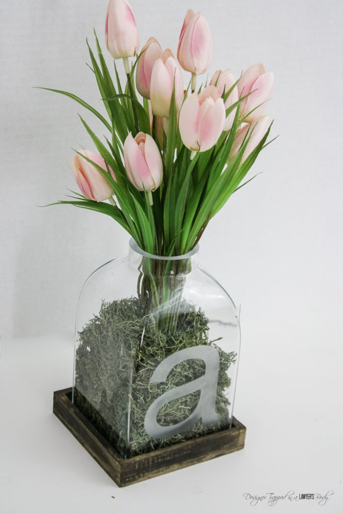 Diy Glass Etched Vase All Things Thrifty