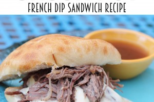 French Dip Sandwich slow cooker Recipe