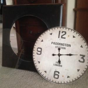 Disassembled Clock