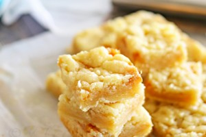 Salted Caramel Butter Bars from kleinworthco.com