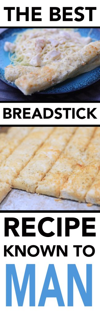 The Best Breadstick Recipe Known to Man
