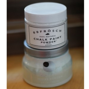 "BB Frösch Chalk Paint Powder and Target's ""Devine Horizon"""