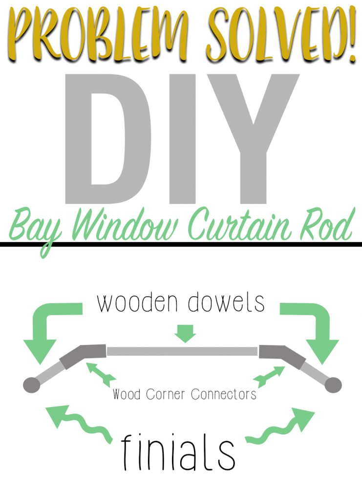 curved curtain rod bay window old fashioned rods exceptional best ideas that you will like on