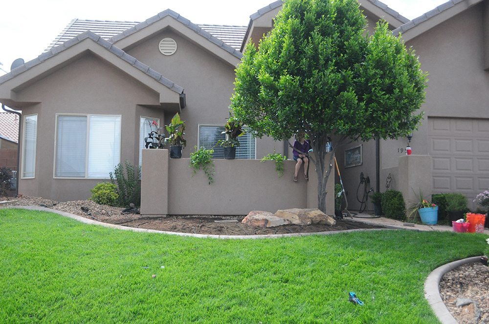 front yard flower bed for web