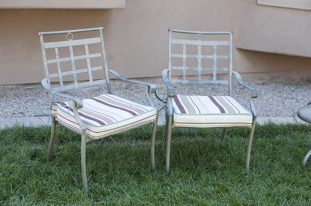 Cool how to paint outdoor metal furniture