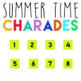 summer time charades lds chorister idea
