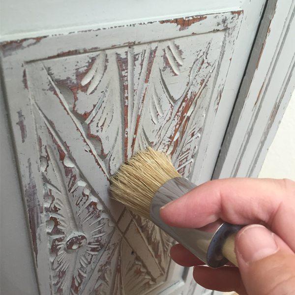 ATT Wet Distress 10. Chalk Paint No Mess Distress  Wet Distress  Tutorial