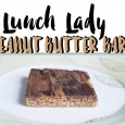 Lunch Lady Peanut Butter Bars recipe