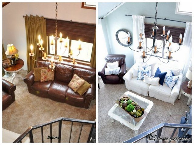 All Things Thrifty Living Room Makeover