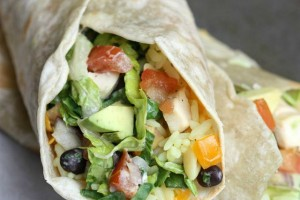 Chipotle Chicken Wrap from TastesBetterFromScratch.com