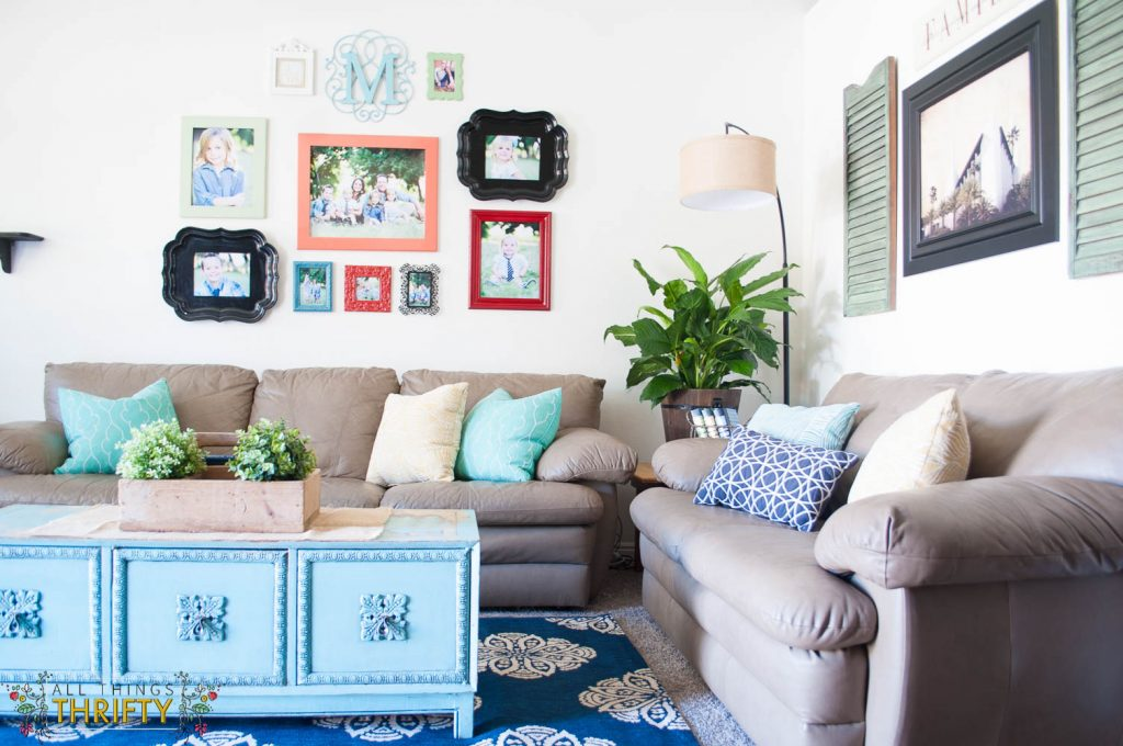 Colorful Living Room Decor Ideas (1 of 1)