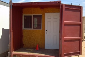 A Storage Container turned into a CABIN!?!