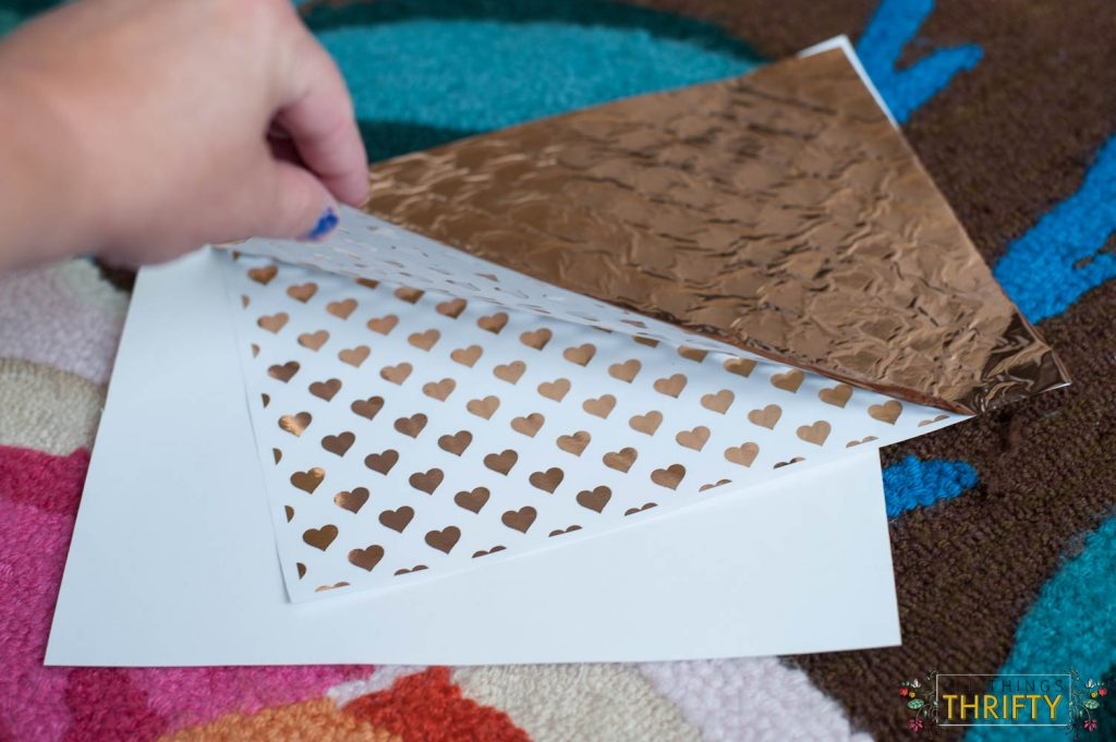 Gold-Foil-Wrapping-Paper-Tutorial-With-Laminator