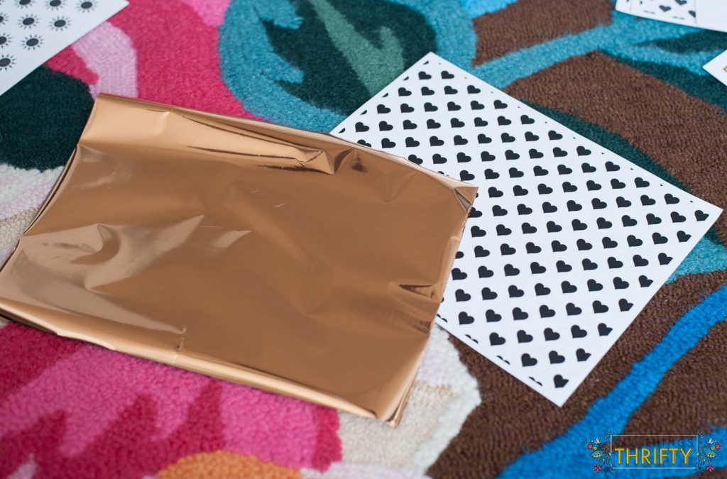 Gold-Foil-wrapping-paper